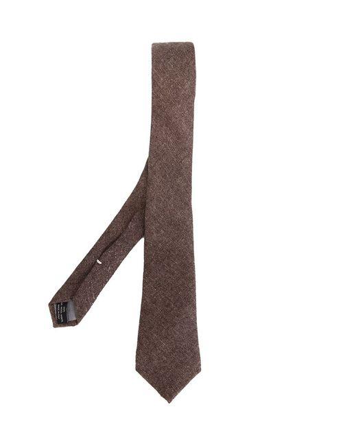 Eleventy | Мужское Коричневый Knit Tie
