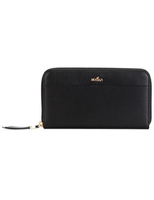Hogan | Женское Черный Zip Around Wallet