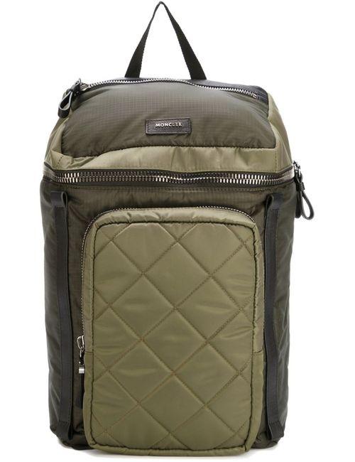 Moncler | Женский Зелёный Рюкзак George
