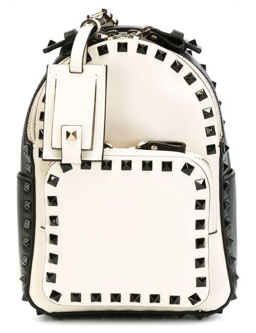 Valentino Garavani | Женское Белый Small Rockstud Backpack