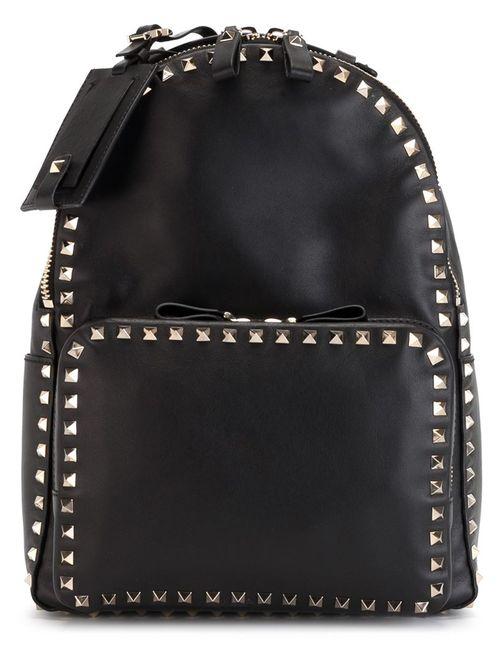Valentino Garavani | Женское Чёрный Rockstud Backpack