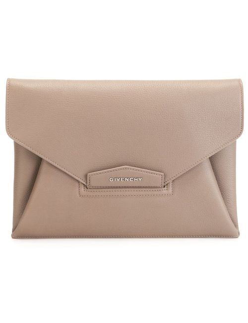 Givenchy | Женское Nude & Neutrals Medium Antigona Envelope Clutch