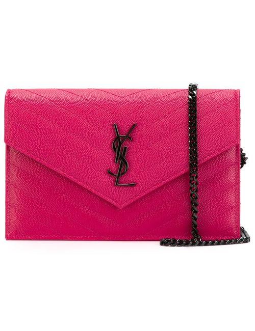 Saint Laurent   Женская Розовая Сумка Monogram