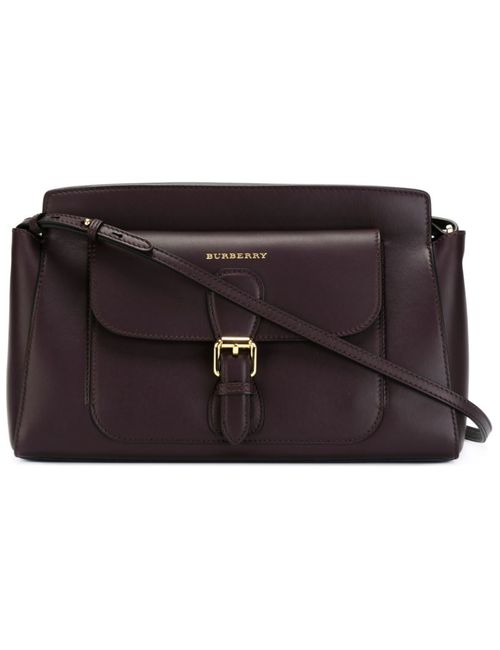 Burberry   Женское Красный Small Saddle Bag