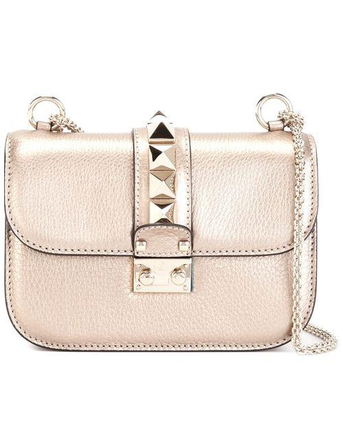 Valentino Garavani | Женское Серебристый Glam Lock Shoulder Bag