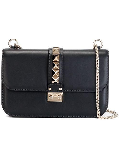 Valentino Garavani | Женское Серый Glam Lock Shoulder Bag