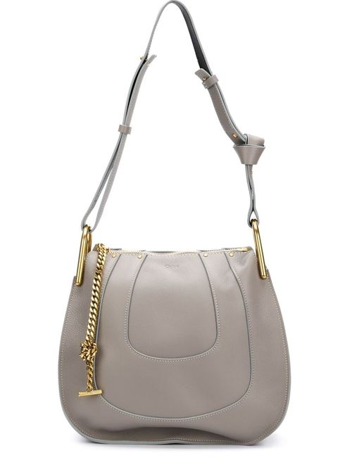 Chloe | Женское Серый Hayley Shoulder Bag