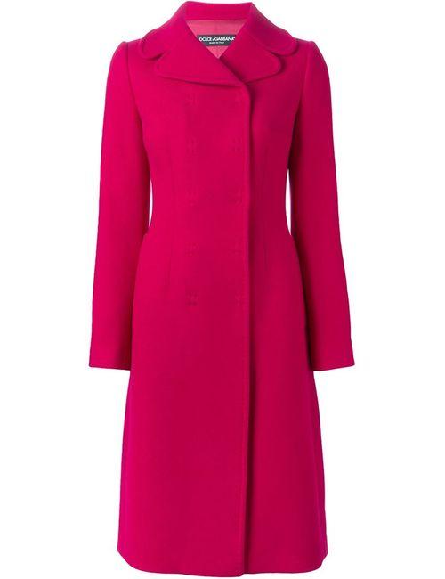 Dolce & Gabbana | Женское Розовое Двубортное Пальто