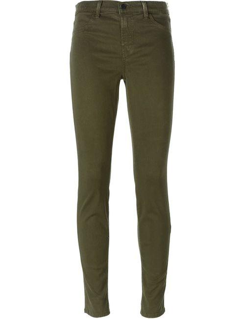 J Brand | Женское Зелёный Skinny Jeans