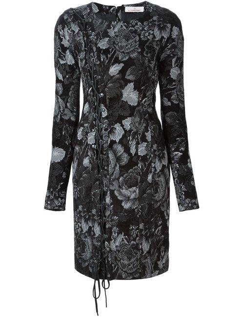 A.F.Vandevorst | Женское Серое Жаккардовое Платье 152 Decision