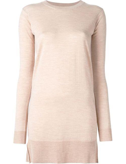 MM6 by Maison Margiela | Женское Nude & Neutrals Mm6 Maison Margiela Fine Knit Sweater Dress