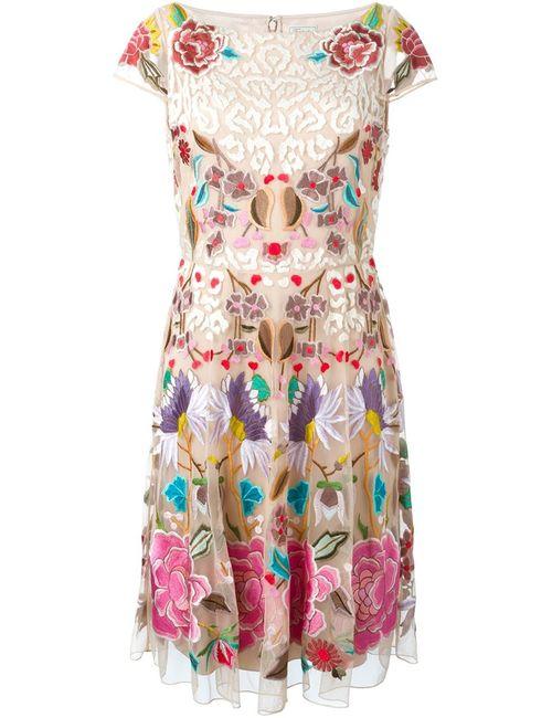 Temperley London | Женское Flower Embroidered Shortsleeved Dress