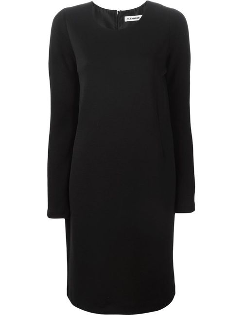Jil Sander | Женское Черный Longsleeved Shift Dress