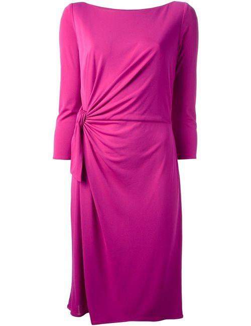 ISSA | Женское Розовый Twisted Jersey Dress