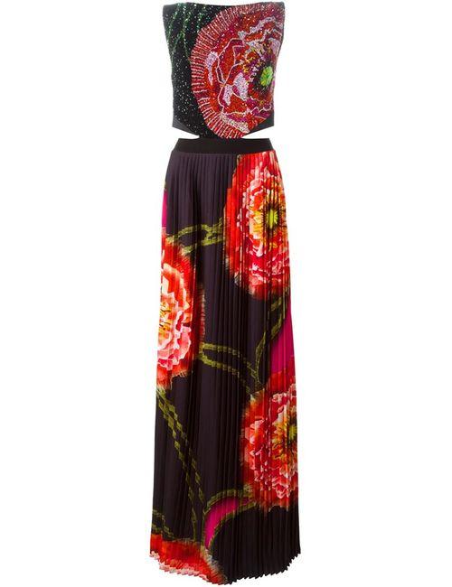 Manish Arora | Женское Чёрный Sequins Embroidered Printed Dress