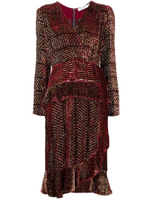 Altuzarra | Женское Красный Lurex Velvet Dress