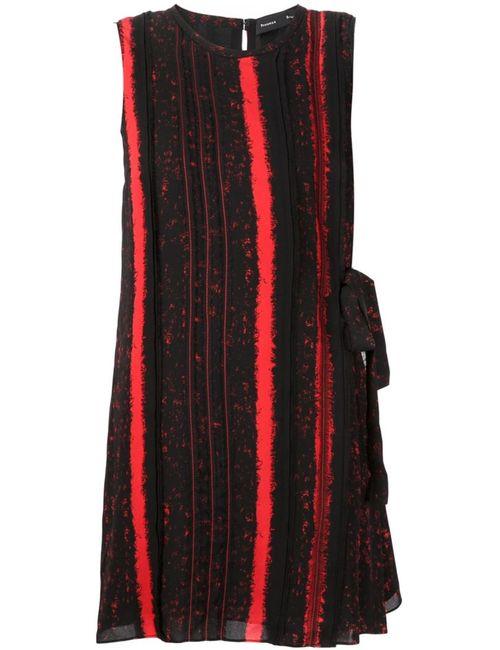 Proenza Schouler   Женское Красный Striped Shift Dress