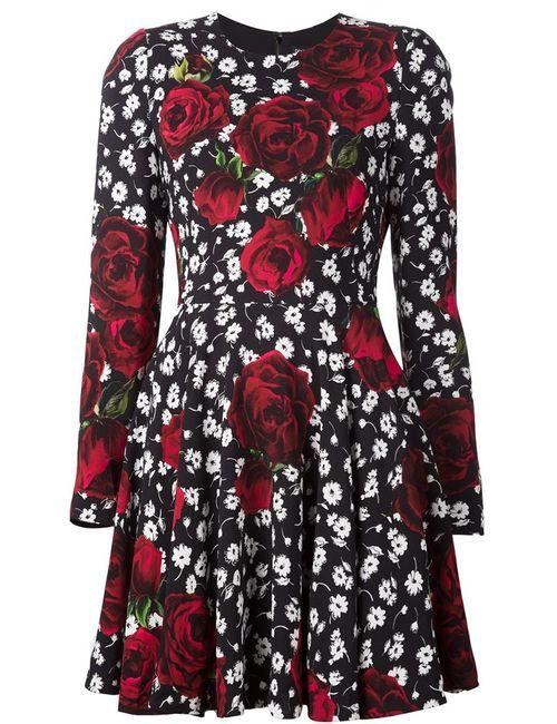 Dolce & Gabbana | Женское Красный Print Dress