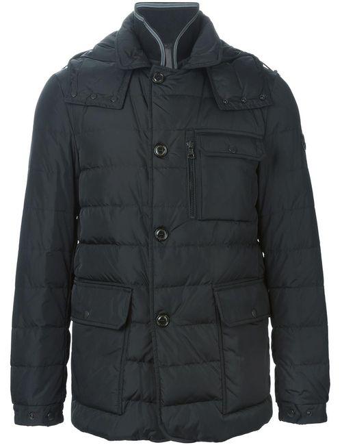 Moncler   Мужская Чёрная Дутая Куртка Nicloux