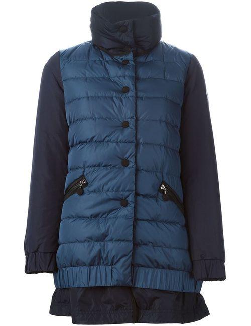 Moncler | Женская Синяя Дутая Куртка Challier