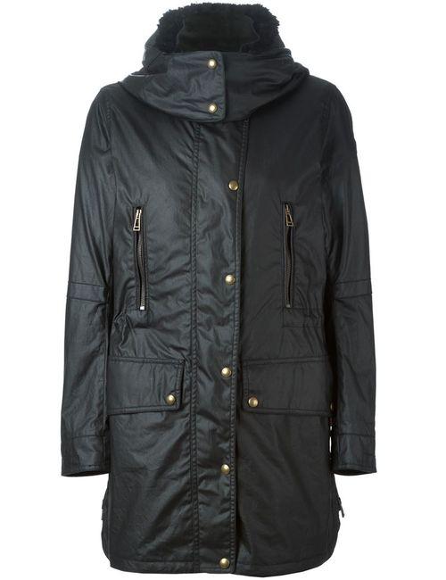 Belstaff | Женское Черный Hooded Zip Jacket