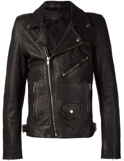 Blk Dnm | Мужское Черный Fitted Biker Jacket