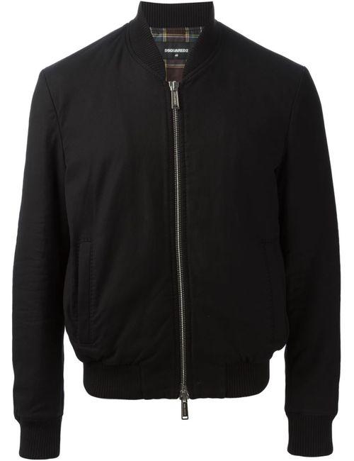 Dsquared2   Мужская Черный Куртка-Бомбер