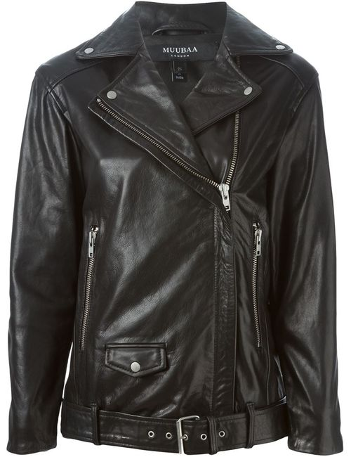 Muubaa | Женское Черный Olson Boyfriend Biker Jacket