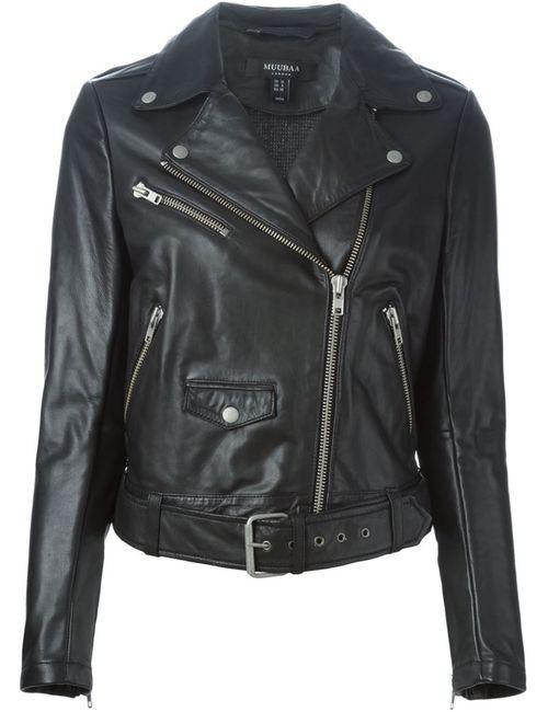 Muubaa | Женское Чёрный Biker Jacket