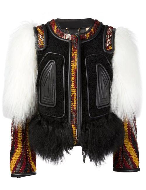 Chloe | Женское Чёрный Contrasted Panel Jacket