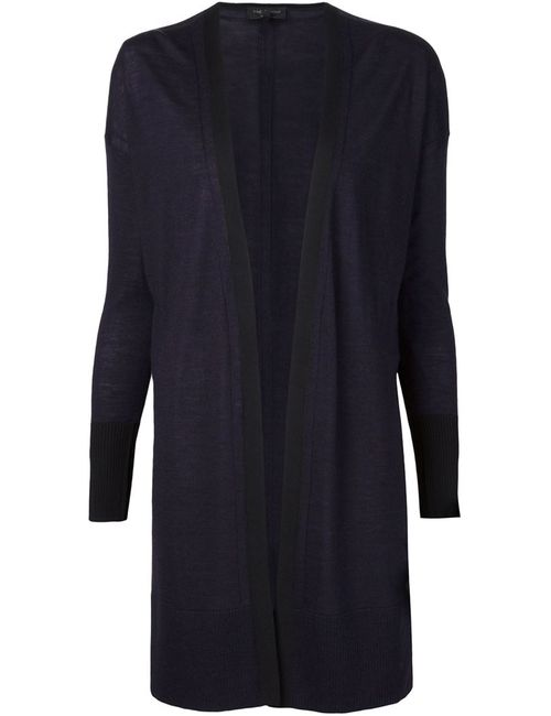 Rag & Bone | Женское Синий Fine Knit Open Front Cardigan