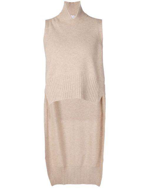 ROSETTA GETTY | Женское Коричневый High-Low Hem Knitted Vest
