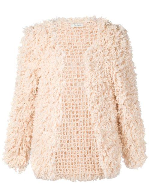 RYAN ROCHE | Женское Розовый Open Front Cardigan