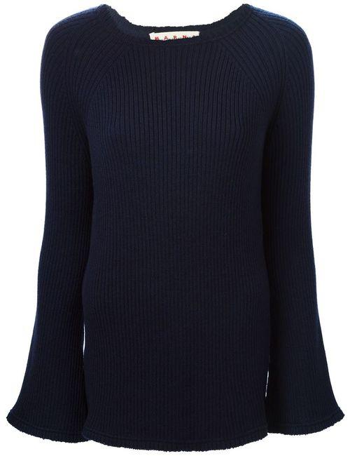 Marni | Женское Синий Ribbed Sweater