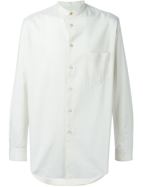 Paul Smith | Мужская Белая Рубашка Grandpa