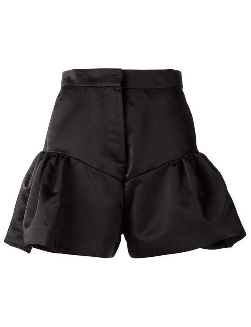 Comeforbreakfast | Женское Черный Flared Shorts