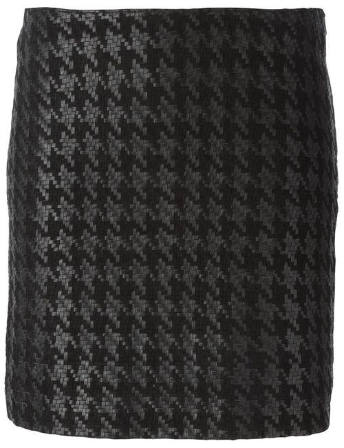 Muubaa | Женское Черный Houndstooth Skirt