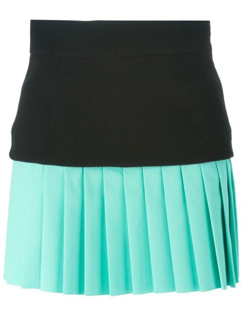 Fausto Puglisi | Женское Чёрный Pleated Mini Skirt