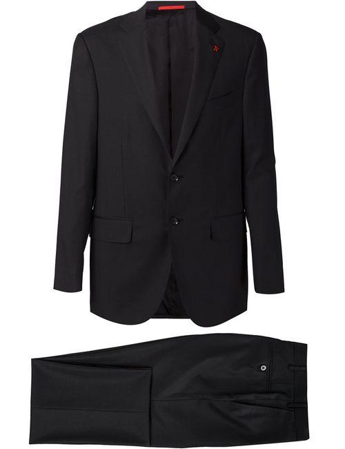 Isaia   Мужское Серый Two Piece Suit