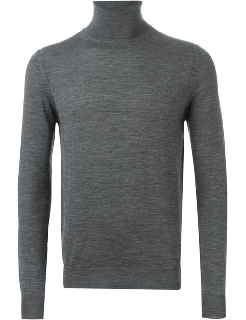 Paolo Pecora | Мужское Серый Roll Neck Sweater