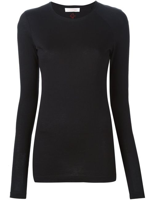 A.F.Vandevorst   Женское Чёрный 152 Fairy Long Sleeve T-Shirt