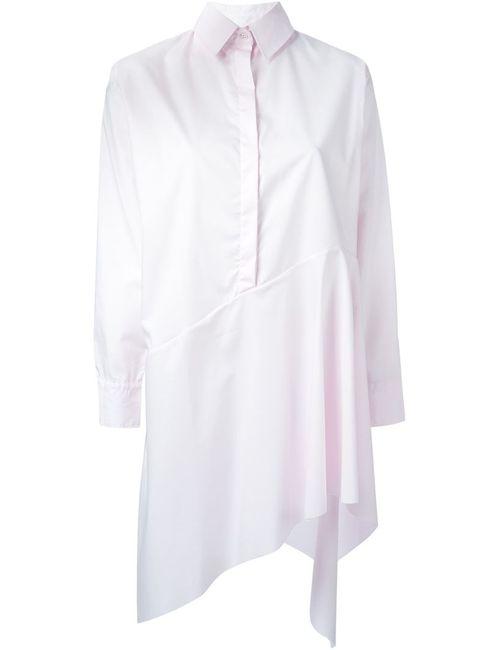 Marques Almeida | Женская Розовая Асимметричная Рубашка