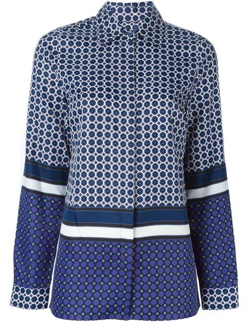 Michael Michael Kors | Женское Синий Geometric Pattern Shirt