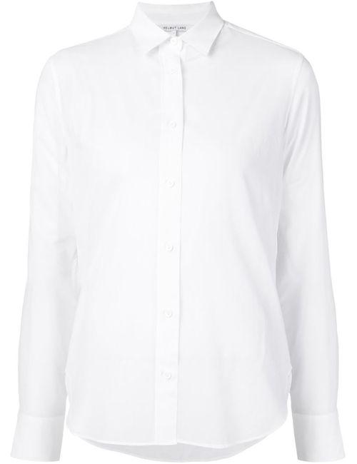 Helmut Lang | Женское Белый Longsleeved Sheer Shirt