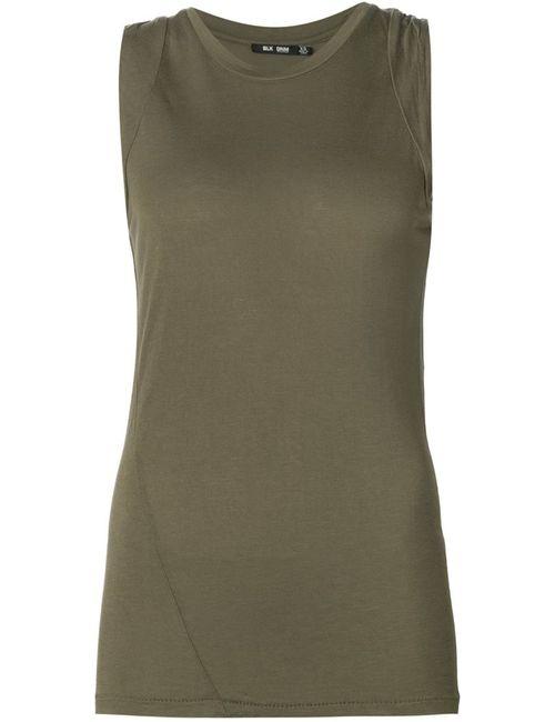 Blk Dnm | Женское Зелёный Round Neck Tank Top