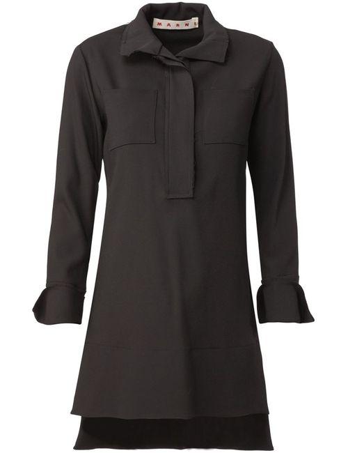 Marni | Женское Чёрный High-Low Hem Tunic