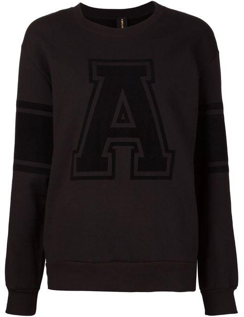 Alexandre Vauthier | Женское Чёрный Varsity Sweatshirt