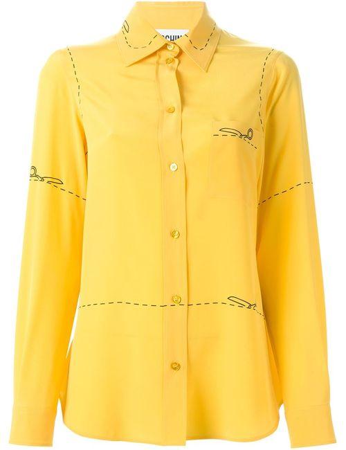 Moschino | Женское Желтый Cutting Scissors Shirt