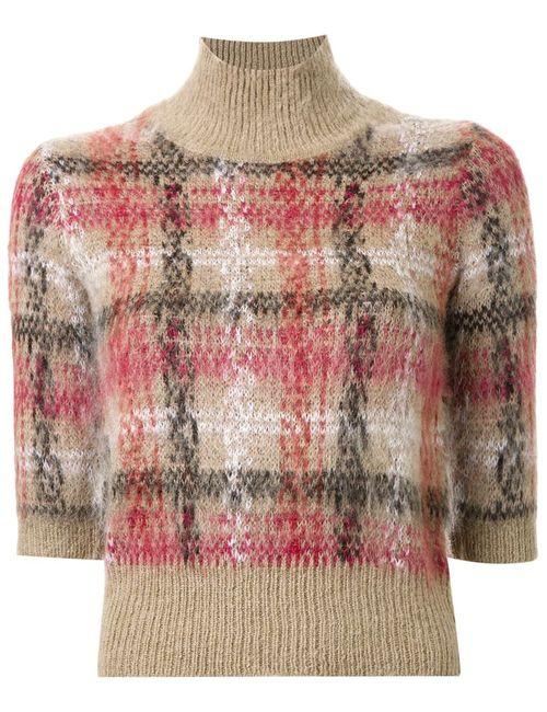 Carven | Женское Коричневый Plaid Sweater
