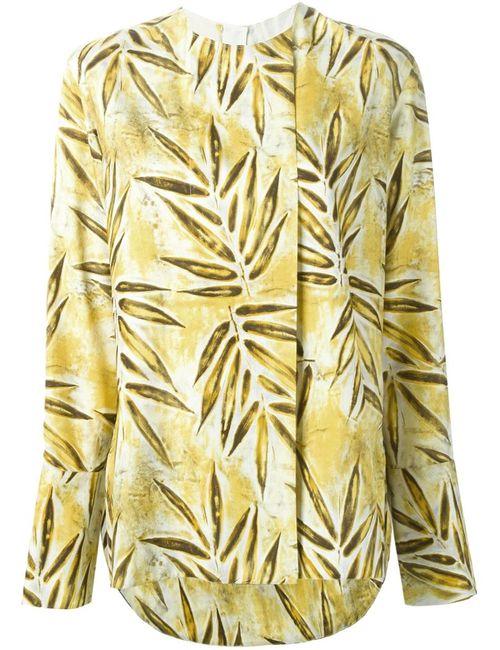 Marni | Женское Желтый Leaf Print Top